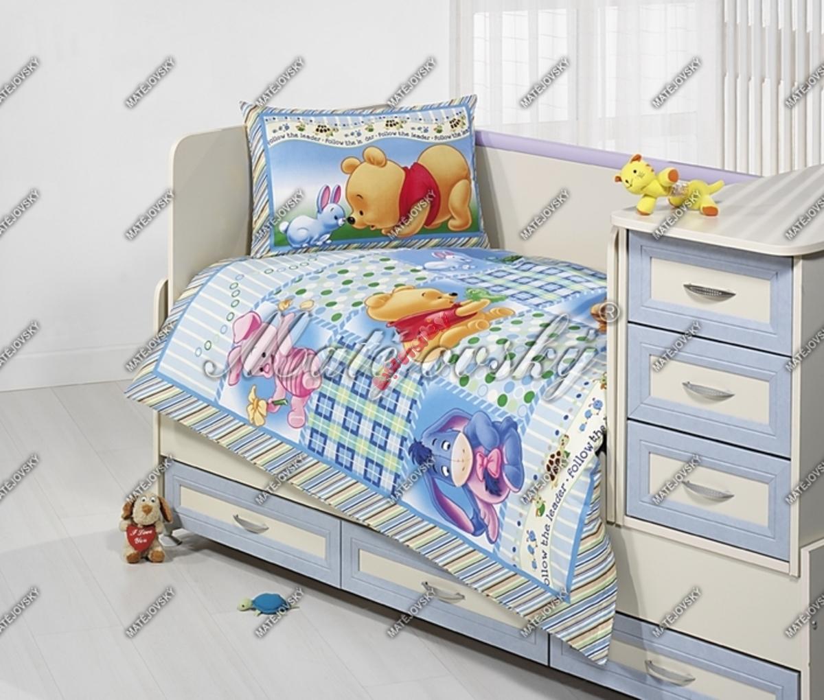 Gyerek ágynemű - Micimackó patchwork - banaby.hu 737b5fa5a2