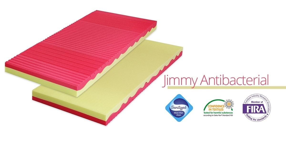 Gyerekmatrac Jimmy Antibacterial - 160x70 cm