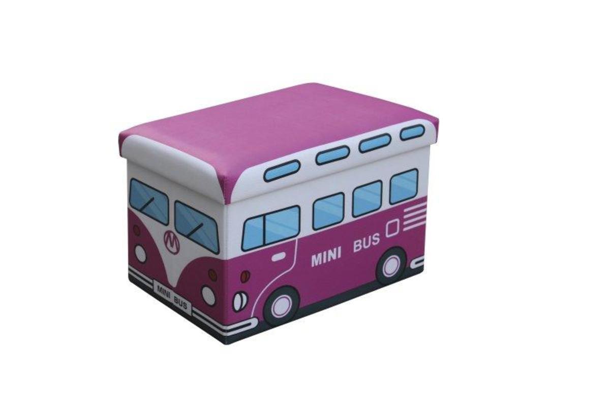 Gyerek puff Kiri - rózsaszín