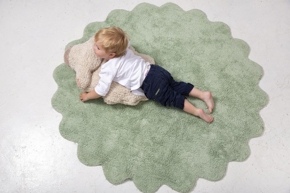 Childrens szőnyeg puffadt Juh