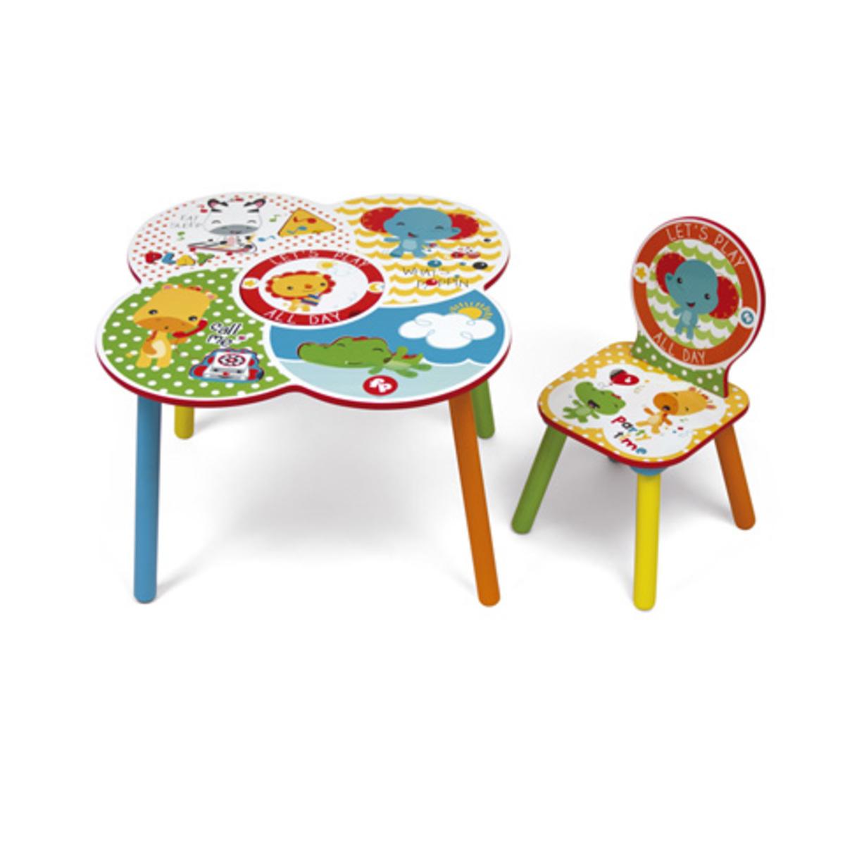 Childrens asztal  széklet Fisher Price