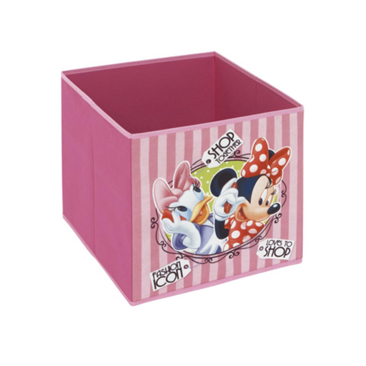 Childrens szövet tárolás box - Minnie Mouse