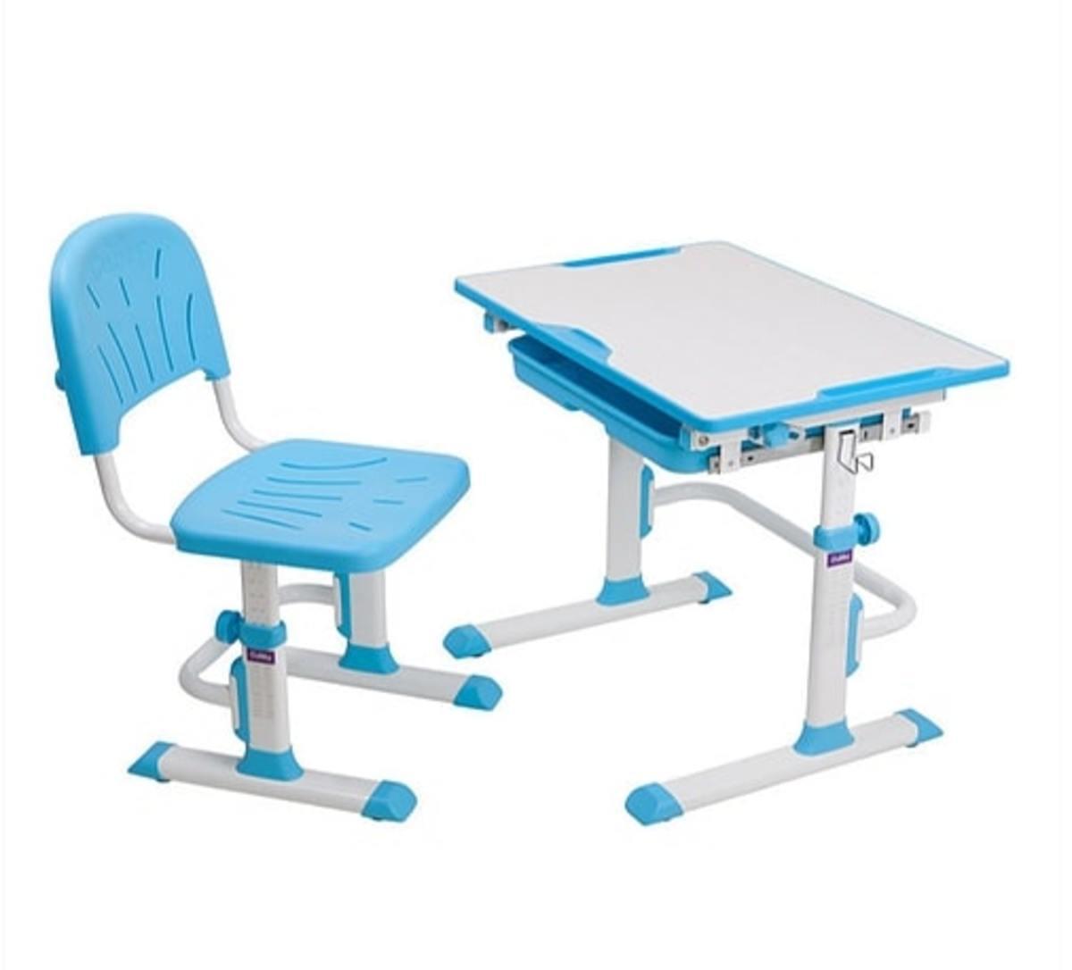 Childrens írás asztal + szék Cubby Lupin - kék