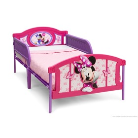 Műanyag 3D ágy Minnie Mouse, Delta, Minnie Mouse