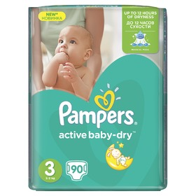 Pampers Giantpack Midi, Pampers