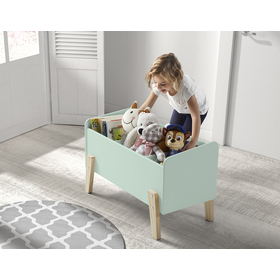 Tároló láda KIDDY - mentazöld, VIPACK FURNITURE
