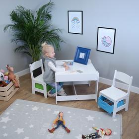 New Baby gyerekasztal székkel multicolor | Gyerekasztal