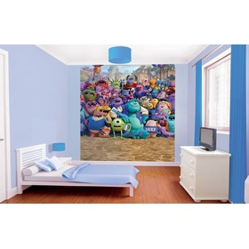 8 részes gyerek fotótapéta - Monsters University, Walltastic, Monsters University