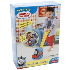 Fisher Price tili toli - Thomas, a gőzmozdony - 2 az egyben, Fisher Price