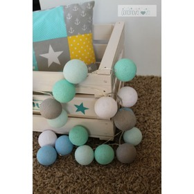 Cotton Balls - Mint Pastell