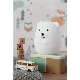 lámpa LED pufferek - Bear, cotton love