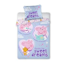 Babaágynemű Sweet Dreams Piggy Peppy, Faro, Peppa pig